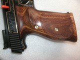 SMITH & WESSON MOD. 41 CAL. .22LR 50th ANNIVERSARY ENGRAVED IN NEW CONDITION - 17 of 20
