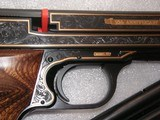 SMITH & WESSON MOD. 41 CAL. .22LR 50th ANNIVERSARY ENGRAVED IN NEW CONDITION - 11 of 20