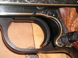 SMITH & WESSON MOD. 41 CAL. .22LR 50th ANNIVERSARY ENGRAVED IN NEW CONDITION - 6 of 20