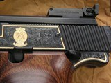 SMITH & WESSON MOD. 41 CAL. .22LR 50th ANNIVERSARY ENGRAVED IN NEW CONDITION - 3 of 20