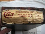 COILT 22 LR CONVERSION UNIT WAS NEVER USED IN ORIGINAL BOX AND THE MANUAL - 9 of 10