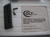 COILT 22 LR CONVERSION UNIT WAS NEVER USED IN ORIGINAL BOX AND THE MANUAL - 3 of 10
