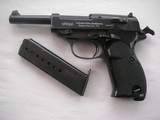 """WALTHER RARE 9 mm Model HP """"Heeres Pistole"""" """"Swedish"""" HP-experimental first production Swedish trials."""