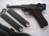 RARE 41-byf CODE VARIATION LUGER ONLY 60 REPORTED SERIAL NUMBER1379KU FULL RIG EXCELLENT - 2 of 17