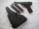 RARE 41-byf CODE VARIATION LUGER ONLY 60 REPORTED SERIAL NUMBER1379KU FULL RIG EXCELLENT - 1 of 17