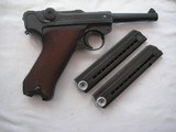 RARE 41-byf CODE VARIATION LUGER ONLY 60 REPORTED SERIAL NUMBER1379KU FULL RIG EXCELLENT - 4 of 17