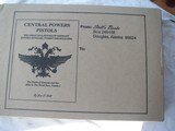 CENTRAL POWERS PISTOLS BY JAN C. STILL NEW CONDITION IN UNOPENED BOX - 1 of 2