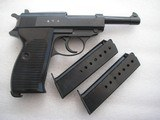 WALTHERP 38 AC/42 IN LIKE NEW ORIGINAL 99% BEAUTIFUL BLUING FULL RIG 2 MAGS, HOLSTER - 3 of 20