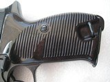 WALTHERP 38 AC/42 IN LIKE NEW ORIGINAL 99% BEAUTIFUL BLUING FULL RIG 2 MAGS, HOLSTER - 13 of 20