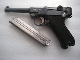 "MAUSER LUGER ""G-DATE"" IN VERY GOOD ORIGINAL 95% CONDITION WITH MATCHING MAGAZINE - 1 of 20"