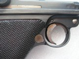 "MAUSER LUGER ""G-DATE"" IN VERY GOOD ORIGINAL 95% CONDITION WITH MATCHING MAGAZINE - 8 of 20"