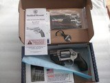 SMITH & WESSON MOD. 637-2 REVOLVER WITH RED LASER/MAX LIKE NEW IN THE ORIGINAL BOX, PAPERS - 1 of 16