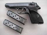 WALTHERPP COPY HUNGARIAN ARMS CAL.380 acp in like mint original with 2 matching SN magazines