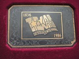 COLT SAA REPUBLIC OF TEXAS SESQUICENTENNIAL 1836-1986 SPECIAL LIMITED PRODUCTION - 2 of 19
