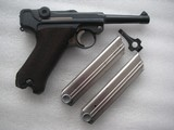 """LUGER """"G"""" DATE 1935 SECRET CODE FULL RIG IN VERY GOOD ORIGINAL CONDITION - 3 of 20"""