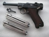 """LUGER """"G"""" DATE 1935 SECRET CODE FULL RIG IN VERY GOOD ORIGINAL CONDITION - 2 of 20"""