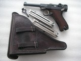 """LUGER """"G"""" DATE 1935 SECRET CODE FULL RIG IN VERY GOOD ORIGINAL CONDITION - 1 of 20"""