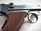 """LUGER SWISS/BERN CAL. .30 LUGER 4.75"""" BARREL FULL RIG IN LIKE NEW ORIGINAL CONDITION - 8 of 20"""
