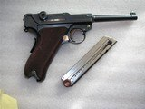 """LUGER SWISS/BERN CAL. .30 LUGER 4.75"""" BARREL FULL RIG IN LIKE NEW ORIGINAL CONDITION - 3 of 20"""