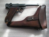 """LUGER SWISS/BERN CAL. .30 LUGER 4.75"""" BARREL FULL RIG IN LIKE NEW ORIGINAL CONDITION - 1 of 20"""