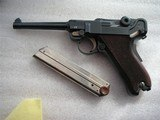 """LUGER SWISS/BERN CAL. .30 LUGER 4.75"""" BARREL FULL RIG IN LIKE NEW ORIGINAL CONDITION - 2 of 20"""