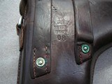 """LUGER SWISS/BERN CAL. .30 LUGER 4.75"""" BARREL FULL RIG IN LIKE NEW ORIGINAL CONDITION - 16 of 20"""