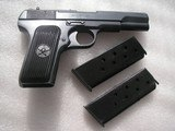 TOKAREV CHINESE COPY CAL.7.62X25 IN LIKE NEW ORIGINAL WITH MATCHING S/N MAGAZINE - 4 of 19