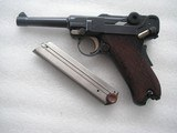 LUGER DWM 1906 COMMERCIAL CAL.9MM EXTREMELY RARE N LIKE NEW ORIGINAL CONDITION - 1 of 20