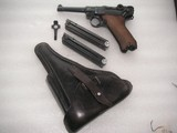 LUGER 1942 RARE CONDITIONMAUSER BANNER W/2 MATCHING MAGS FULL RIG ALL ORIGINAL 95% - 1 of 20