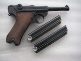 LUGER 1942 RARE CONDITIONMAUSER BANNER W/2 MATCHING MAGS FULL RIG ALL ORIGINAL 95% - 3 of 20