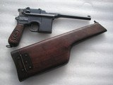 MAUSER RED 9 RARE 98%+ CONDITION FULL RIG BROOMHANDLE ALL MATCHING INCLUDING STOCK - 12 of 20