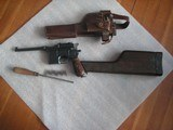 MAUSER RED 9 RARE 98%+ CONDITION FULL RIG BROOMHANDLE ALL MATCHING INCLUDING STOCK