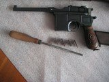 MAUSER RED 9 RARE 98%+ CONDITION FULL RIG BROOMHANDLE ALL MATCHING INCLUDING STOCK - 2 of 20