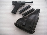 """LUGER 1942 """"BLACK WIDOW"""" FULL RIG IN LIKE MINT ORIGINAL ALL MATCHING CONDITION - 2 of 20"""