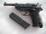WALTHER P.38 RARE ZERO SERIES USED ON RUSSIAN FRONT 1940 MFG ALL MATCHING INCLUDING MAGAZINE
