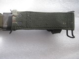 COLT AR15-AR16 M7 MARKED BAYONET WITH SCABBARD IN AS NEW ORIGINAL CONDITION - 9 of 12
