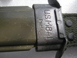 COLT AR15-AR16 M7 MARKED BAYONET WITH SCABBARD IN AS NEW ORIGINAL CONDITION - 2 of 12