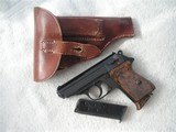 WALTHER PPK NAZI'S TIME PRODUCTION FULL RIG IN MINT RARE ORIGINAL CONDITION WITH 2 MAGS