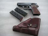 WALTHER PPK WW2 PRODUCTION FULL RIG IN EXCELLENT ORIGINAL CONDITION