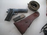 COLT MODEL 1911 FULL RIG 1917 PRODUCTION IN VERY GOOD CONDITION WITH ALL ORIGINAL PARTS