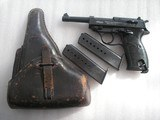 WALTHER HP RARE NAZIS MILITARY PROOFED FULL RIG IN VERY GOOD ORIGINAL CONDITION