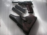 WALTHER P.38 WW2 NAZI'S TIME 1943 PRODUCTION ALL MATCHING WITH SHINY BORE BARREL