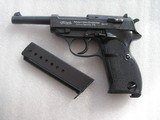 WALTHER EXPERIMENTAL FIRST PRODUCTION HP FOR SWEDISH TRIAL PISTOL ONLY 1,000 PRODUCED