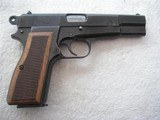 BROWNING HI-POWER NAZIS TIME PRODUCTION IN LIKE NEW ORIGINAL CODITION WITH 1944 HOLSTER - 4 of 20