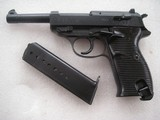 NAZI'S MILITARY SPREEWERK P.38 IN EXCELLENT LIKE NEW CONDITION WTH BRIGHT & SHINY BORE - 1 of 14