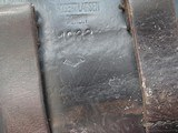 LUGER RARE 1933 POLICE HOLSTER, THE YEAR HITLER ELECTED TO POWER IN GERMANY - 3 of 9