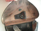 LUGER RARE 1933 POLICE HOLSTER, THE YEAR HITLER ELECTED TO POWER IN GERMANY - 6 of 9