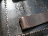 LUGER RARE 1933 POLICE HOLSTER, THE YEAR HITLER ELECTED TO POWER IN GERMANY - 8 of 9