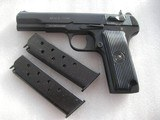 SERBIAN COPY OF RUSSIAN TOKAREV IN 9mm CALIBER IN NEW ORIGINAL CONDITION