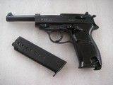 WALTHER P.38 AC-40 SURCHARGE EXTRIMELY RARE HAND STAMPED 40 MATCHING MAG.